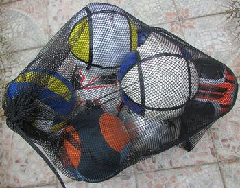 Drawstring Mesh Soccer Ball Bag