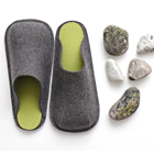 Handmade Travel / Home Guest Felt Slippers
