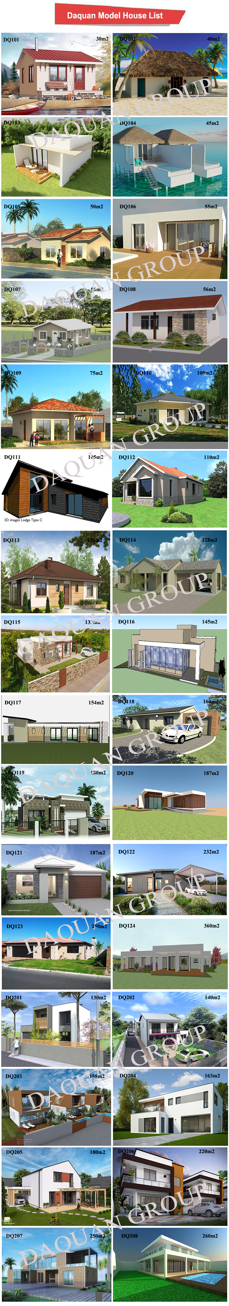 affordable prefabricated luxury prefab modular house prices 280m2 2-storey