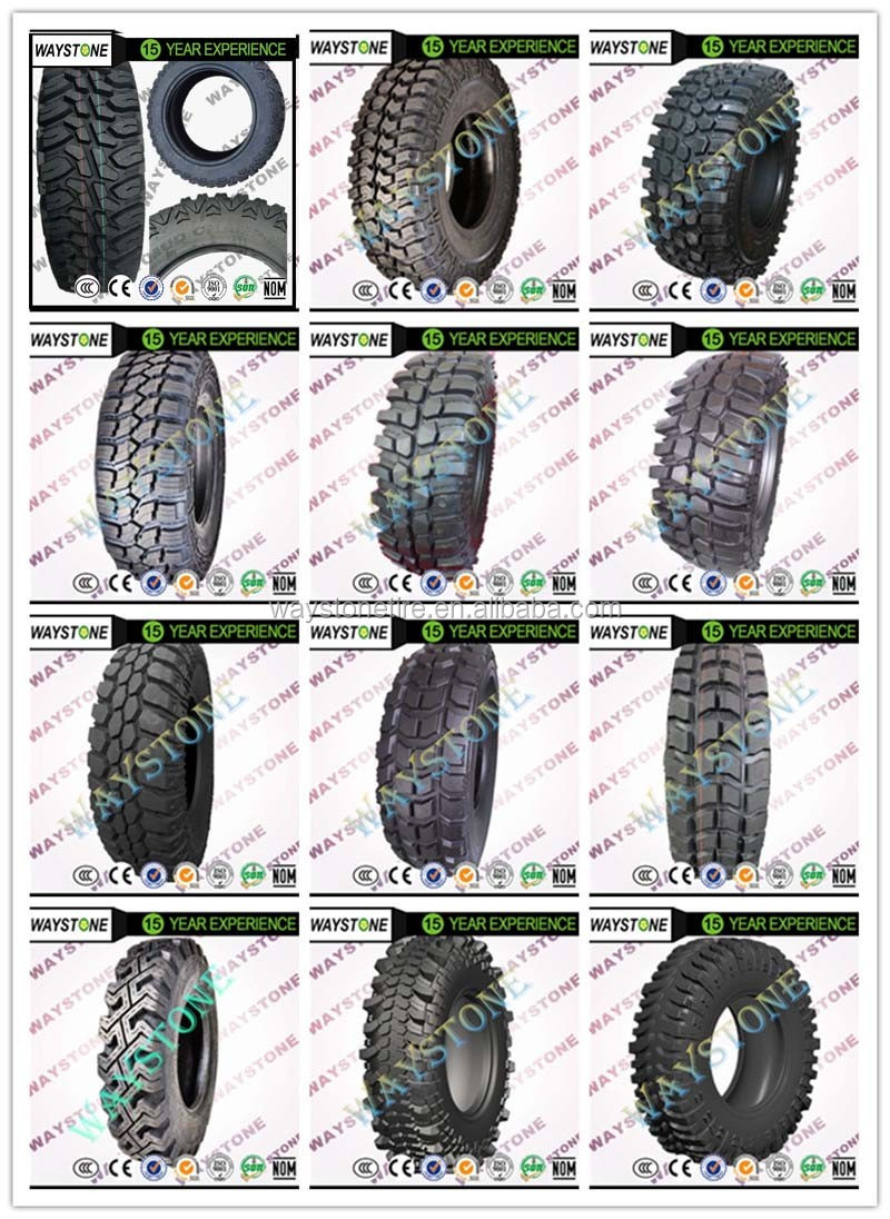 waystone mudster mud tires 28575r16 31x105r15 off road truck tires 265