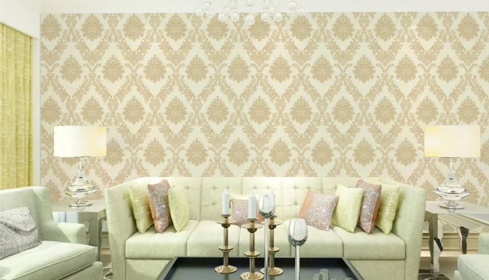 Indoor Decoration Pvc Thick Royal Wallpaper Design Buy Royal Wallpaper Design Product On Alibaba Com