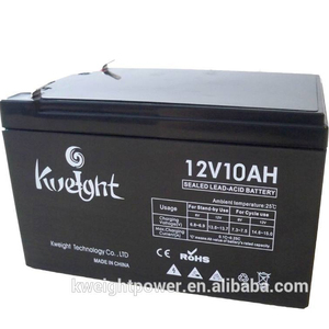 12V 10AH Sealed lead acid battery AGM small battery used solar light/led light