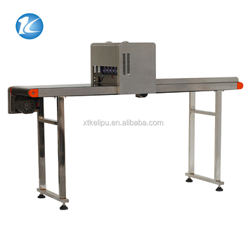 Automatic Egg Inkjet Printer With Conveyor / Egg Date Stamping Machine
