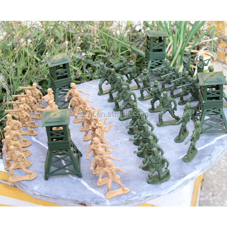 plastic soldiers/plastic army men/OEM toy soldiers