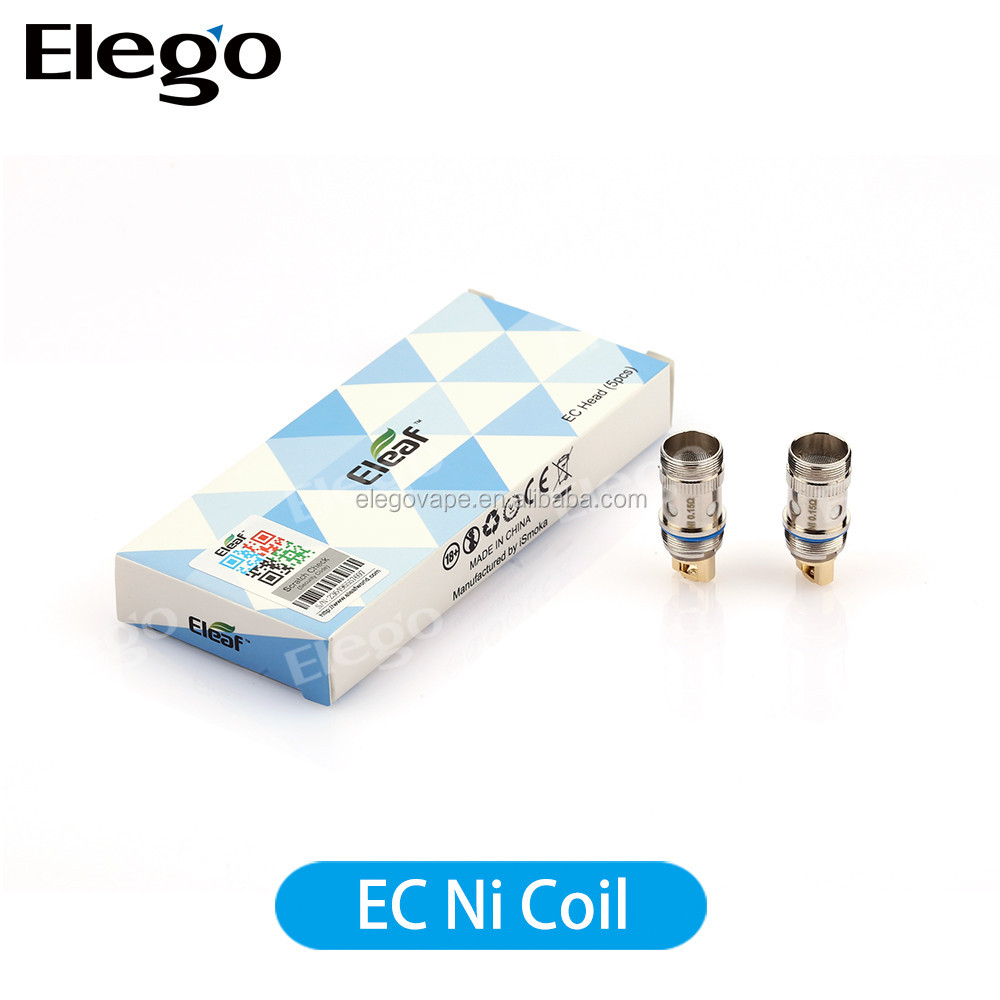 2015 Eleaf EC Head iJust 2 Atomizer Replacement Coils 0.3ohm 0.5ohm For iJust 2 Atomizer 100% Original New Arrival Huge Stock