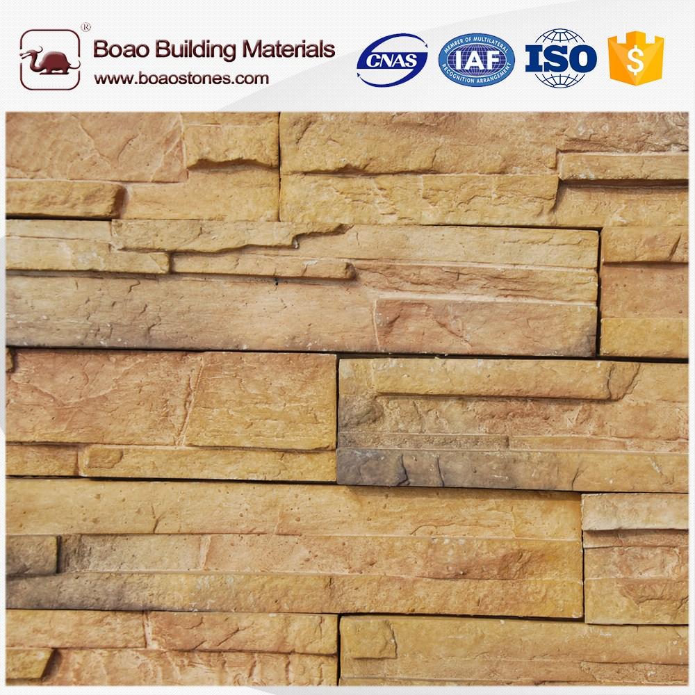 Easy Fixing Decorative Wall Stone Brick Panels For Interior Exterior Wall  Decor