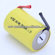 1200mAh 1.2V 4/5sc nicd battery