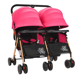Easy Foldable Cheap Compact Two Baby Stroller Buggy For Twin