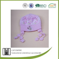 BSCI all kinds cap and hat baby knitted cap