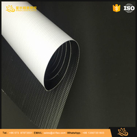 Cold lamination banner poster materials blockout pvc flex banner laminated blockout pvc flex banner high quality blockout