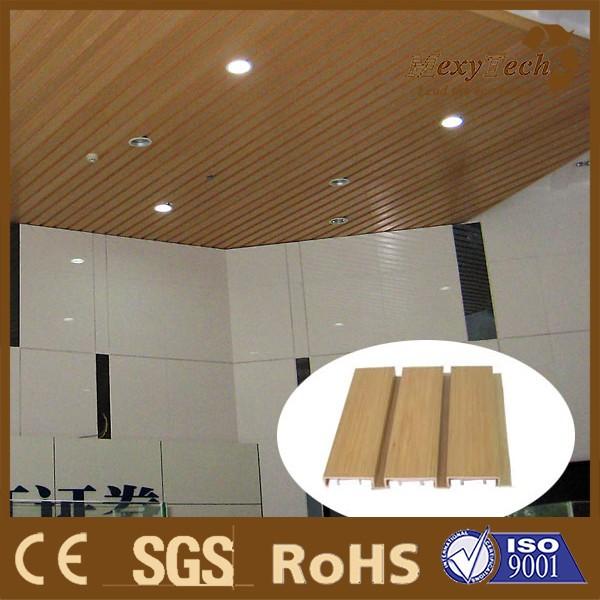 Para el hogar y decoración balcón interior falso madera, plástico ...