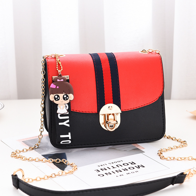 Latest Cheap PU Leather bag Fashion designer girl low price handbags