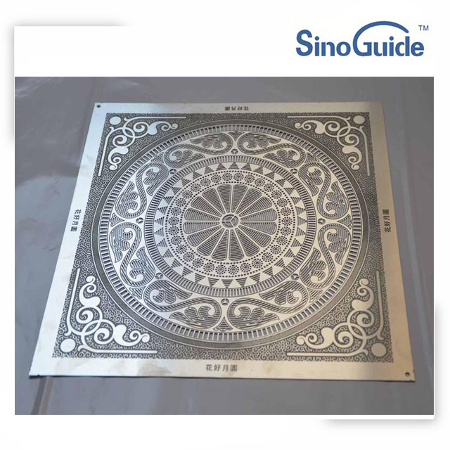 3mm Thick Stainless Steel Sheet Deep Etching for Decorative