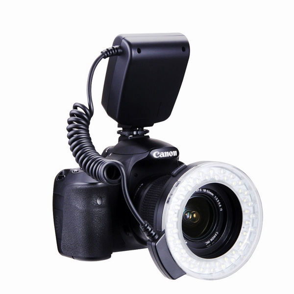 Commlite CoMiray Macro Ring Flash LED Light For Canon/Nikon/Olympus/Panasonic