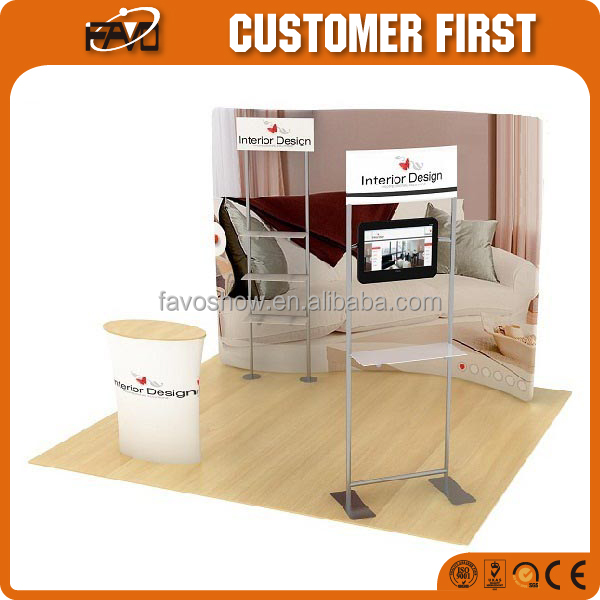 Trade Show Display Modular Exhibition Booth Material Design Building Rent and Decoration Detail Idea Service