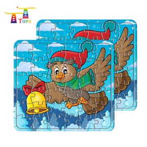 super toy 24pcs game paper material custom jigsaw puzzle