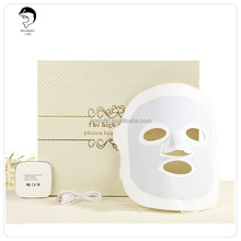 Skin Rejuvenation Light Therapy Reduces Wrinkles 3Colors LED Photon Facial Mask