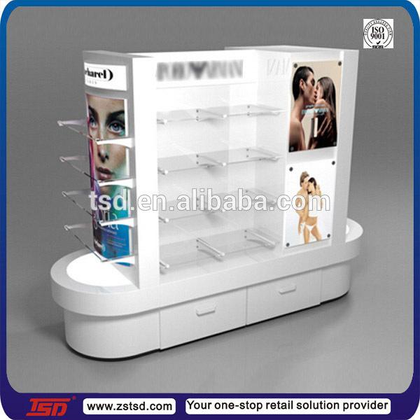Perfume Tester Display: Tsd-w570 Custom Double Sided Perfume Display Stand,Store Furniture For Cosmetics,Cosmetics