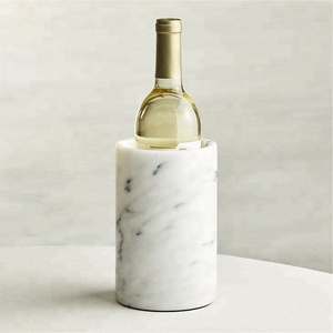 Factory price French Kitchen Marble Wine Cooler , marble container for utensil
