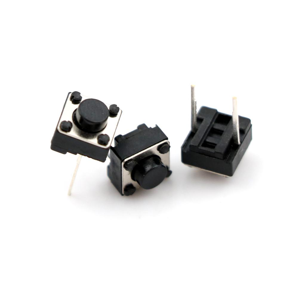 20Pcs Momentary Tactile Tact Push Button 2 Pin Switch DIP 6 x 6 x 5m FDPLCA