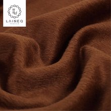 2018 new design double-sided plain wool fabrics worsted