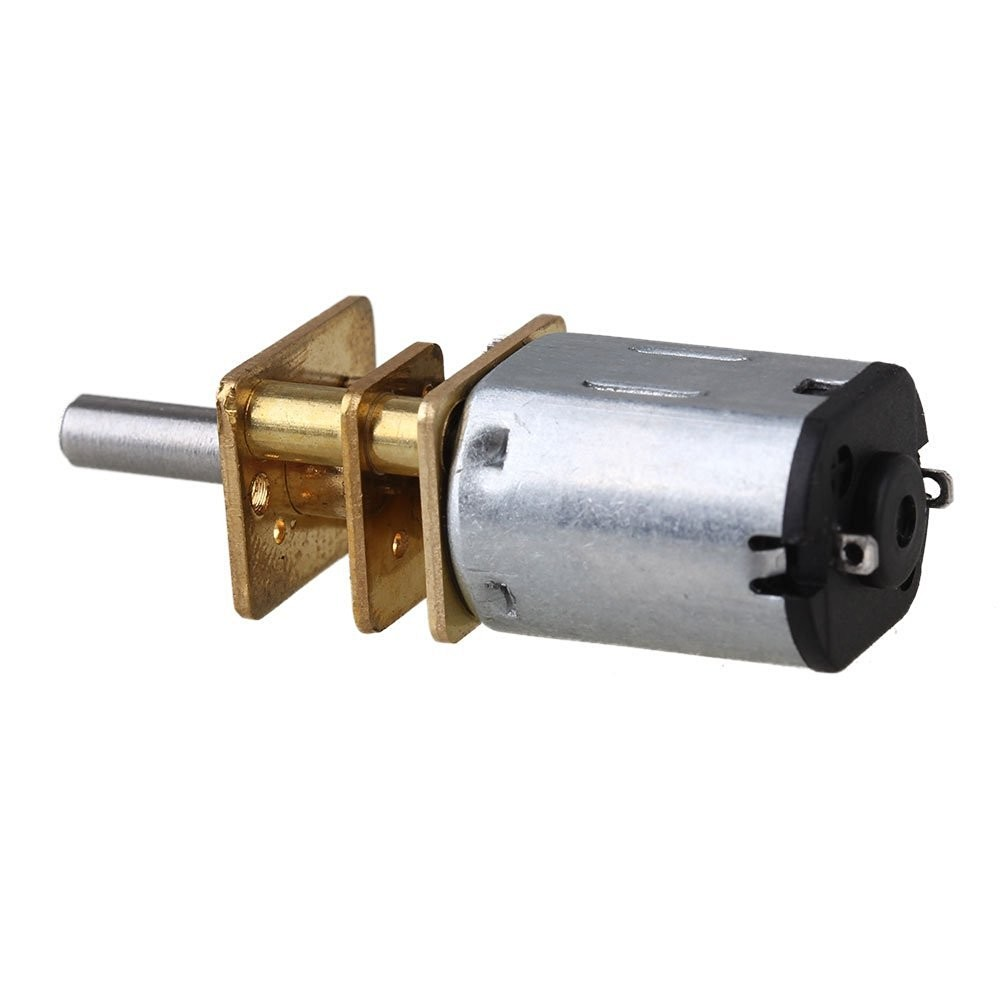 Gear motor dc 12v 3v high torque small dc gear motor for Small geared electric motors