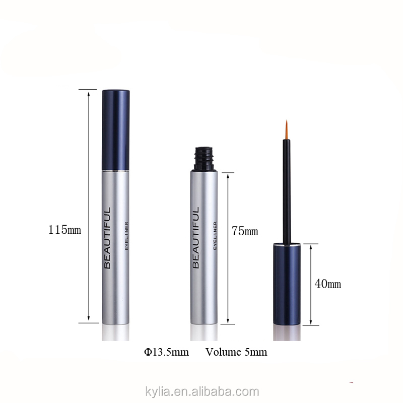 5 Ml di Alluminio Eyeliner Cosmetic Packaging Vuoto Eyeliner Contenitore Tubo