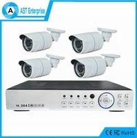 4ch CCTV Camera System 4ch Digital DVR Wireless CCTV Camera DVR Kit Hybrid 4ch AHD 1080p h.264 ahd dvr kit