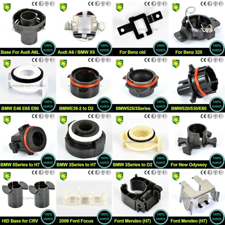 Carsen Lighting Factory Hid Bulb Base Auto Bulb Socket Adapter H1 ...