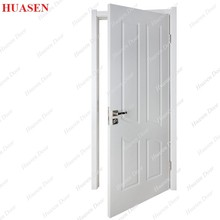 PVC coated hotel interior room flash door