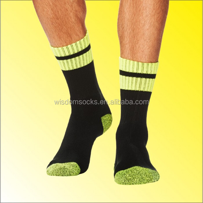 knit heavy duty cushion bamboo men days of the week work socks