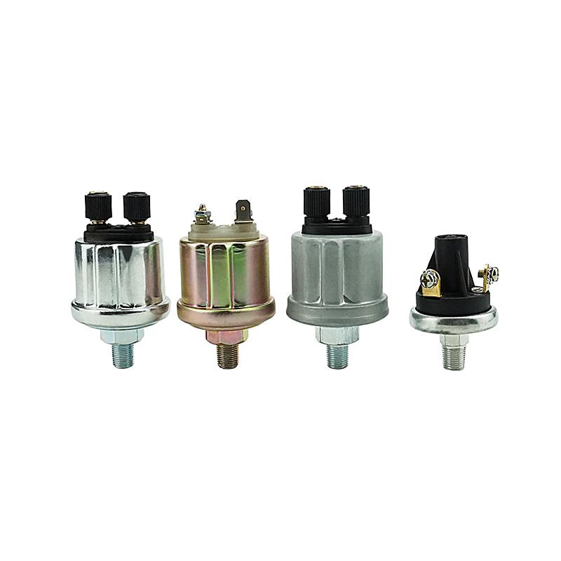 Motore Sensore di Pressione VDO Olio Con Avviso di Contattare 0-10 bar 1/8NPT 360-081-030138C Mittente Pressione Olio