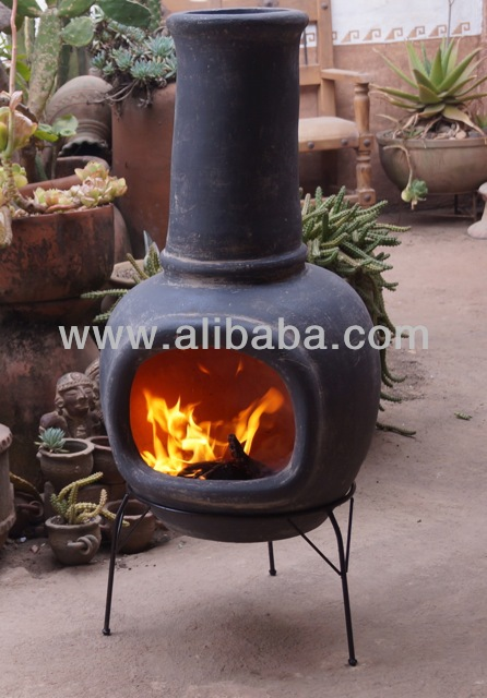Decoraci n chimenea mexicanas - Chimeneas de barro ...