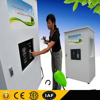 1.6KW 80 bar Coin/card operated car washing self service machine/self-service systems cleaning