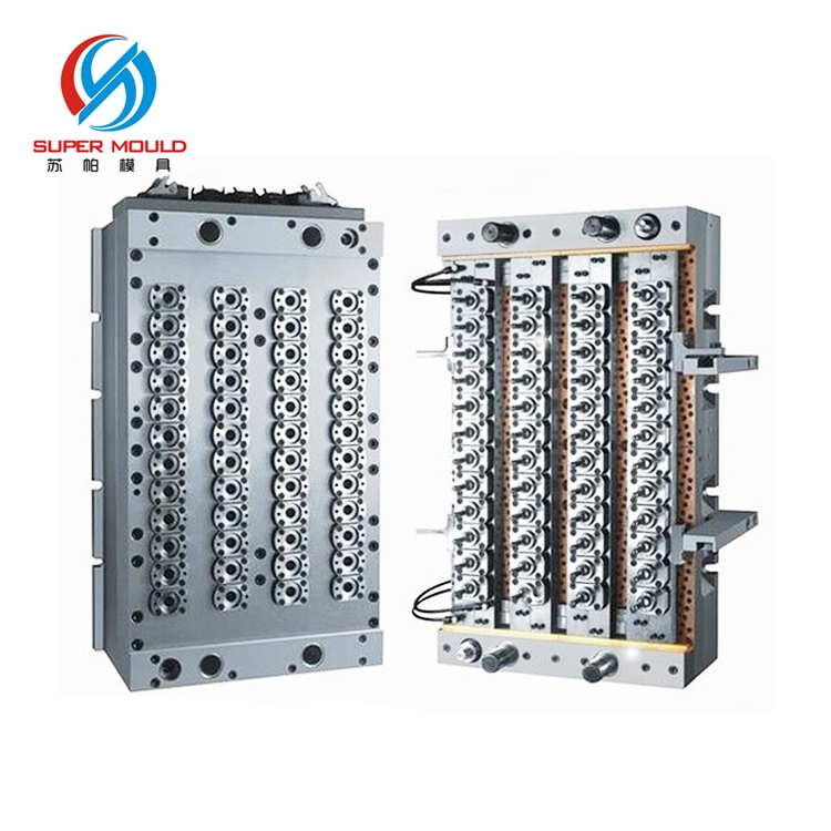 customize blowing vial plastic mold manufacturer,needle-valve type pet jar preform mold,pet preform mould short tail