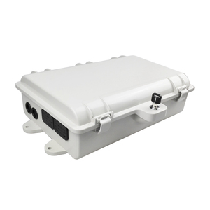 Outdoor Mount IP65 plc splitter sc fc lc Adapter Fiber Optic Cable Connection Juction Box