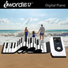S2088 iWord Flexible Roll Up Synthesizer Keyboard Piano - 88 Soft Keys, Loud Speaker
