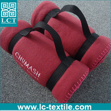 china factory wholesale promotional disposable travel blanket airline high quality