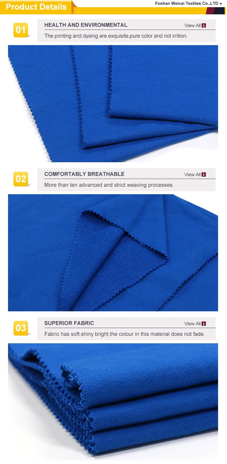 Dark blue Cotton melange lining percale muslin fabric