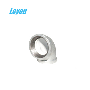 gas pipe fitting elbow pipe fitting male/female elbow