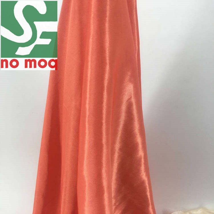 China Factory 100% polyester tricot brushed knit fabric
