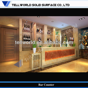 High End Wine Bar Corain Bar Counter Wine Set Buy Bar