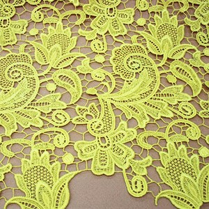 New Women dress making lace organza embroidery fabric wholesale BK-TRM2182