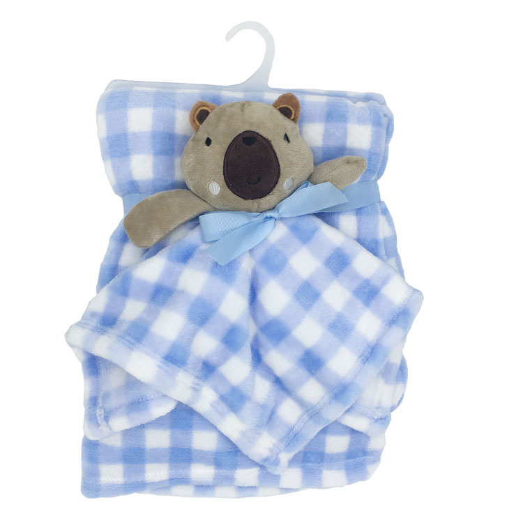 Soft Fleeces Baby Appease Blanket Thickened Printed Baby Blanket