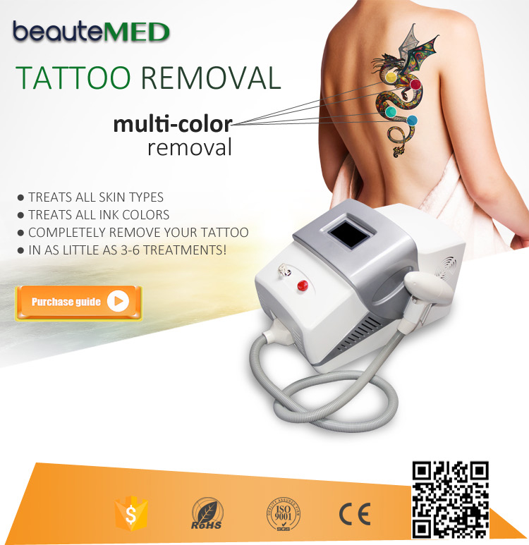 BEAUTEMED CE/RoHs approved nd yag laser whitening machine