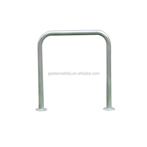 Export Square Tube Inverted U Bike Parking Rack/Bicycle Stand/Surface Mounted Rail Mount U Bike Rack