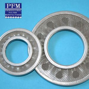round glass sintered mesh stainless steel sparger filter discs