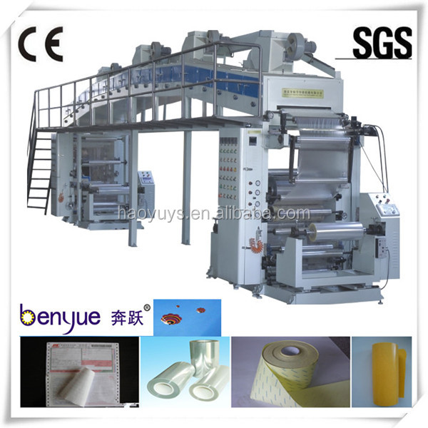 RELEASE FILM/RELEASE PAPIER/SILICONEN OLIE COATING MACHINE (hot verkoop) dip coating machine