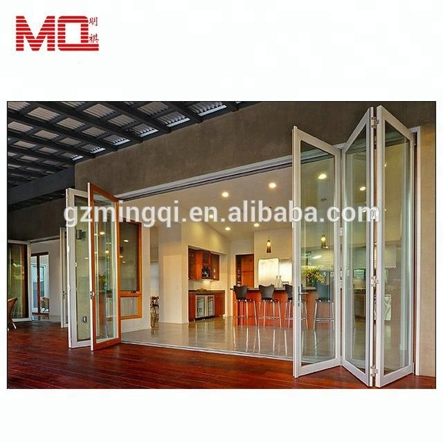 Accordion Aluminum Glass Patio Exterior 24 Inches Bifold Doors Folding Doors Buy Folding Door Price Glasspatio Bifold Doorsaluminum Doors
