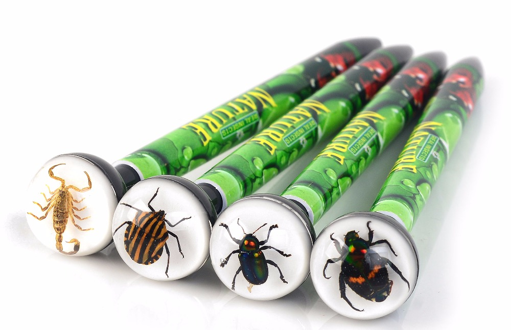new REAL insect gift cute ball pen for kids boys